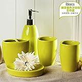 Im europäischen Stil mit Bad 5 einfache Ideen, Badezimmer Badezimmer putzen Cup Keramik Becher Wash Kit,A