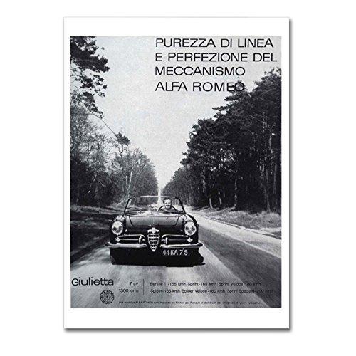 poster-alfa-romeo-adv-posterdruck-glanzend-laminiert-format-70cmx100cm