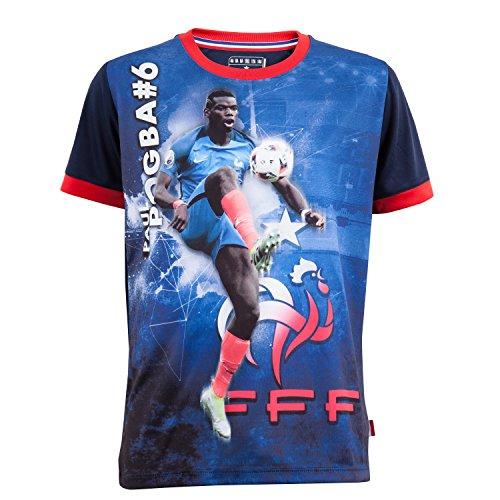 Equipe de FRANCE de football Maillot FFF - Paul Pogba - Collection Officielle Taille Enfant 12 Ans