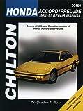 Honda Accord/Prelude (84 - 95) (Chilton total car care)