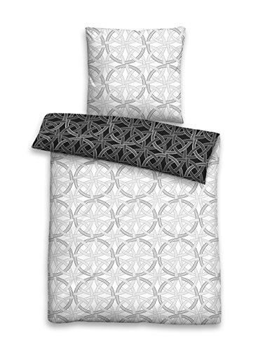 Biberna – Satin de coton mako parure de lit 80 x 80 et 135 x 200/0636037–080