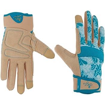 Blue Digz 7606-23 Medium Womens Gardening Gloves with Touchscreen Fingers