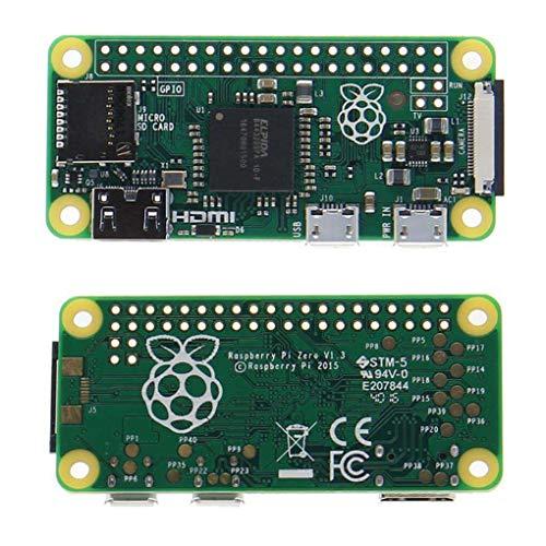 Yongse Raspberry Pi Zero 512MB RAM 1GHz Supporto CPU Single-Core Micro USB Power e Micro SD Card con Noobs