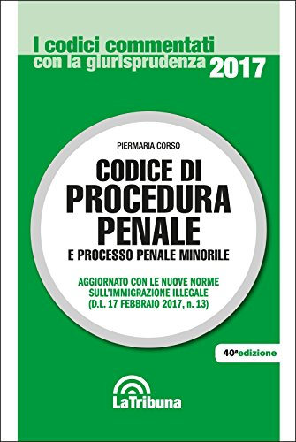 Codice di procedura penale e processo penale minorile