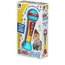 ColorBaby - Micrófono electrónico con canciones, ritmos y aplausos (43590)