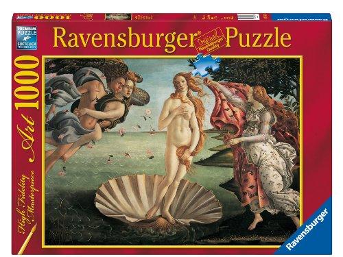 Ravensburger 15769 Botticelli: Nascita di Venere Puzzle 1000 pezzi Arte