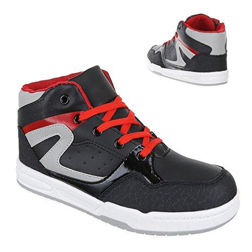 Chaussures pour enfants, 1018, loisirs chaussures sneakers Noir - Noir
