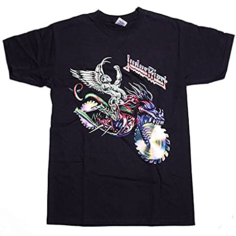 Judas Priest T shirt - Painkiller Solo Saw Motorcycle 100% Official small (100 Saw)
