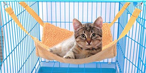 yoxi Katze Käfig Hängematte Kätzchen Aufhängung Bett Hängematte Cover für Ratten Kaninchen Totoro Pet (Katze Maske Und Schwanz)