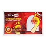 Thermopad Zehen-Wärmer | Angenehme Wärme für die Zehen | 37°C | ultra dünne Heiz-Pads | sofort einsetzbar | 6 Stunden intensive Wärme  | 5 Paare -