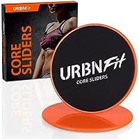 Deslizadores para el Núcleo URBNFit – Disco de Ejercicios para el Núcleo que Fortalecen y Tonifican tu Cuerpo Entero (naranja)