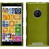 Funda de silicona para Nokia Lumia 830 - brushed verde pastel - Cover PhoneNatic Cubierta + protector de pantalla