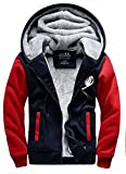 Anime Cosplay Jacke Herren Anime Winterjacke Logo Thicken Zip Up Hoodie Muster Anime Kostüm