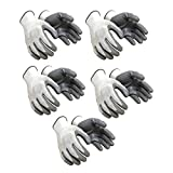 #9: Klaxon Nylon Safety Hand Gloves (Pair 5)