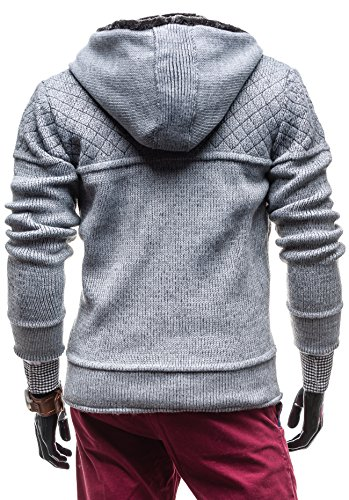 BOLF - Pull - Tricot – COMEOR 311 - Homme Gris