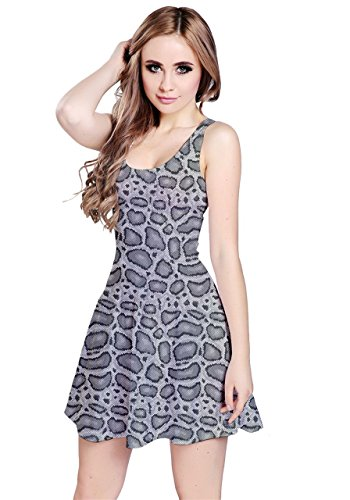 CowCow - Robe - Femme Gray Crows Gray Python