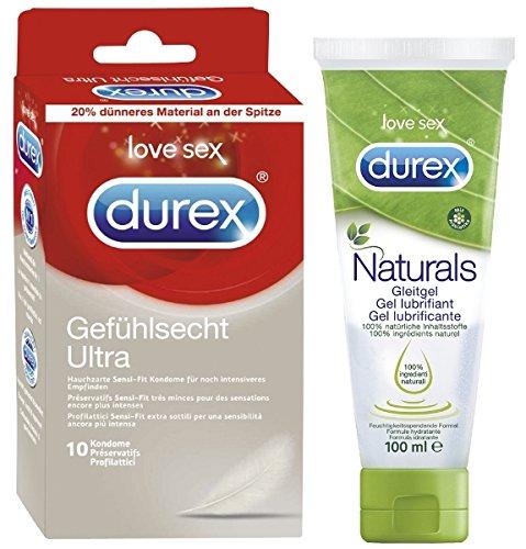 Durex Natural Love Bundle mit 2 Artikeln