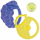 Chicco 00002578000000 Massaggiagengive Soft Relax, 2m+, Blu, Giallo