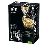 Braun mq 785 Patisserie Plus frullatore miscelazione Veloce, 750 W, Plastica, Grigio
