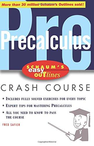 Schaum's Easy Outline of Precalculus (Schaum's Easy Outlines) por Fred Safier
