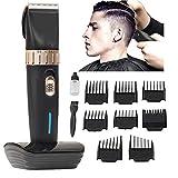 [neue Version 2018] Men es Professional Hair Clippers Precision Cordless Fade Clipper Hair Trimmer S MXIN