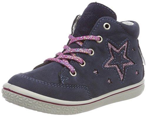 Ricosta Mädchen Sinja Hohe Sneaker, Blau (Nautic 173), 20 EU