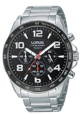 Lorus RT351CX9 - Reloj de pulsera hombre, acero inoxidable, color plateado de Lorus