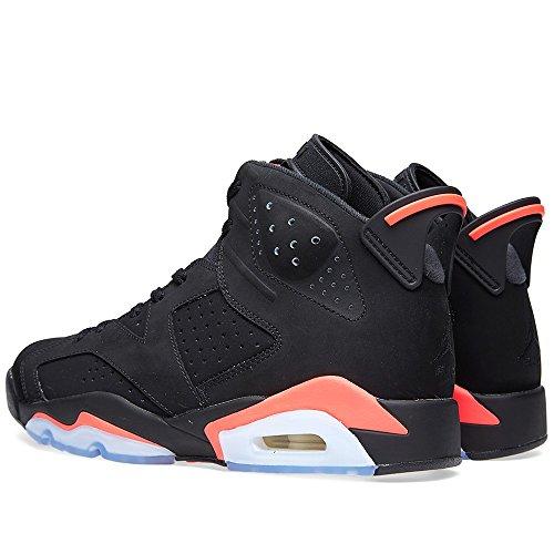 Nike - Air Jordan 6 Retro, Scarpe sportive Uomo black/infrared 23-black