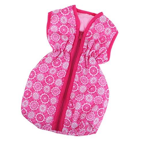 Baoblaze Puppenzubehör Mini Schlafsack Mit Reißverschluss Für 18 Zoll American Mädchen Puppe (18-zoll-american Mädchen Puppe)