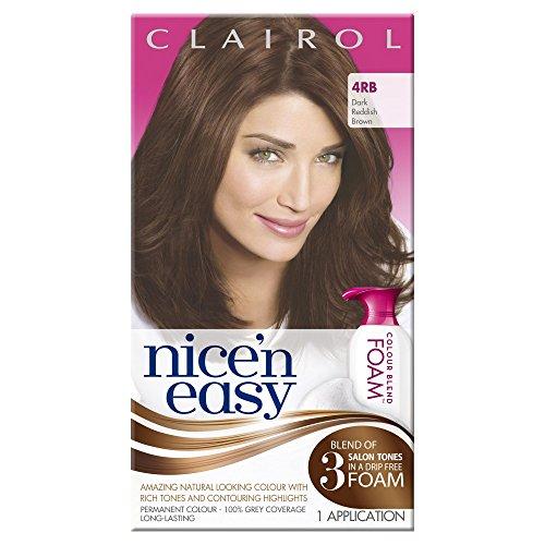 clairol-nicen-easy-colour-blend-foam-permanent-hair-dye-dark-reddish-brown-4rb