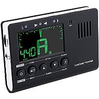 Mugig Tuner Metronome Rhythm Generator 3in1 for Guitar Bass Violin Ukulele