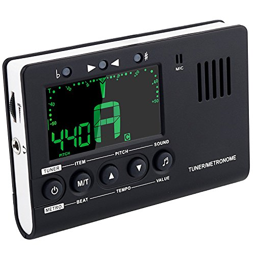 tuner-metronome-rhythm-generator-3-in-1-larger-view-louder-sound-clipmic-pickup-battary-included-for