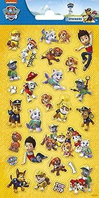 FUNNY PRODUCTS 100589 - Pegatinas 3D de la Patrulla Canina de FUNNY PRODUCTS