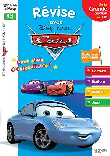 Révise avec Disney Pixar Cars de la Grande Section au CP : 5/6 ans
