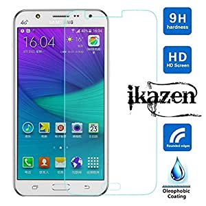 ikazen 2.5D Premium Tempered Glass Screen Protector 9H for Samsung Galaxy E7