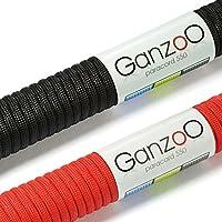 Ganzoo Paracord 550 Seil 2er Set, 4mm Stärke, Parachute Cord