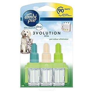 Ambi Pur 20 ml 3Volution Pet Air Freshener Plug-in Refill - Pack of 6
