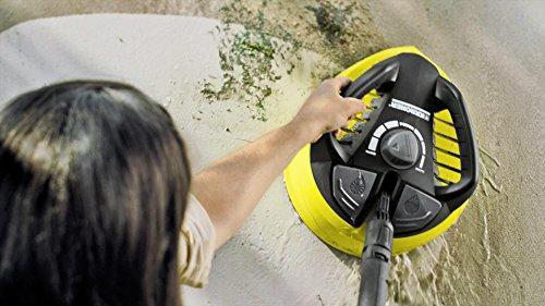 Kärcher K7 Premium Full Control Plus Home - Limpiadora de alta presión, 60 m²/h, 600 l/h, 180 bar, 3 kW (incluye enrollador de manguera, cepillo T-Racer 450, detergente para fachada y piedras 3 en 1)