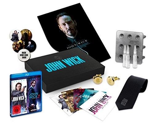 John Wick & John Wick: Kapitel 2 - Gentleman's Edition - Ultimate Fan Collection [Blu-ray]