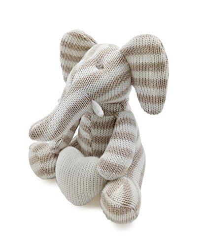 Kiyi-Gift Giocattoli di pezza Consolatore Bambino | molle & sveglia Giocattolo Peluche Elefante con Cuore | Cotone Organico per bambino/infante