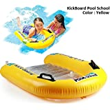 "Pool School Step 3 Inflatable Kick Board Float Swimming Aid, Inflatable Board Style Swim Pool Float For 3+ Years Kids And Children 79cm X 76cm (31"" X 30"")"