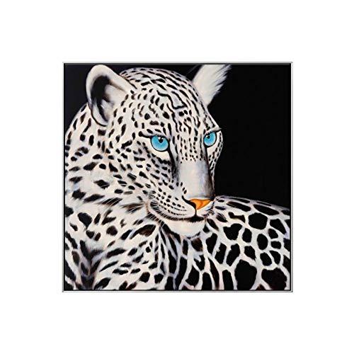 Miss youZZ Gepard Tier Leinwand Malerei Wandkunst Poster Und Drucke Für Wohnzimmer Arbeitszimmer,20x20cm,EIN