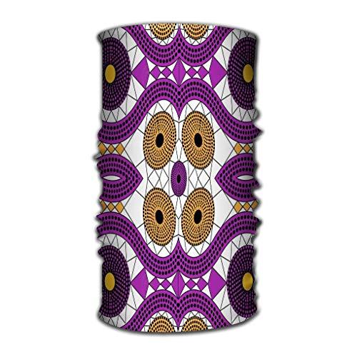 Xunulyn Stirnband Headbands Elastic Turban Head Wrap Stylish Hair Band African Print Fabric Ethnic Handmade Ornament Your Design tribal Motifs Geometric Afro -