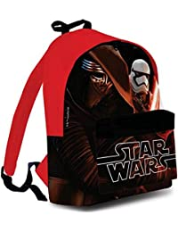 Sac à Dos STAR WARS The Force Awakens 40 cm Episode VII Kylo Ren Stormtrooper Sac Scolaire ou Loisirs Sport Ecole