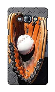 CimaCase Baseball Glove With Ball Designer 3D Printed Case Cover For Samsung Galaxy A8