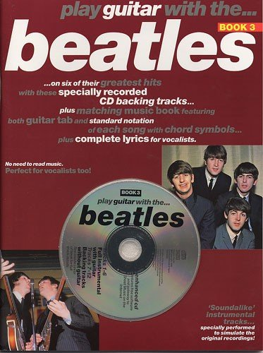 Partition : Play Guitar With Beatles & CD Vol.3