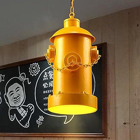 YUPD@Lampadari/Lampade a sospensione Creative arte ferro idrante