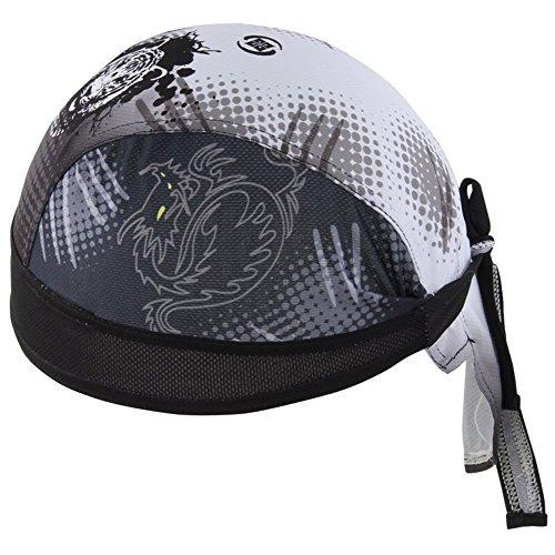 na Kopftuch Hat Herren Damen Stirnbänder Laufen Mütze Fahrrad Helmmütze Piraten Skull Cap (Tiger) ()