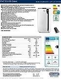 Delonghi PAC EX100 Portable Air Conditioner, Plastic