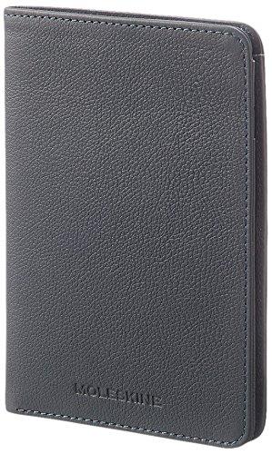 Moleskine Lineage Reisepasshülle Brieftasche Leder, Blau Avio (Brieftasche Moleskine)